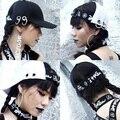 Nova carta Do Punk personalidade HARAJUKU feminino verão quoined cap hiphop boné de beisebol