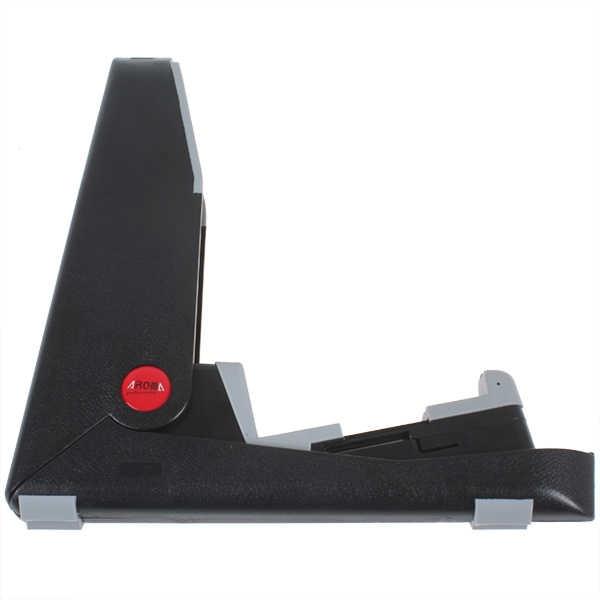 أسود محمول قابلة للطي لينة سيليكون وسادة حامل جيتار لالغيتار الصوتية