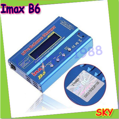 Original SKYRC IMax B6 Digital LCD Lipo NiMh 3S battery Balance Charger AC POWER 12v 5A Adapter + free shipping fee imax b6 digital lcd lipo nimh battery balance charger power adapter 12v 5a register free shipping
