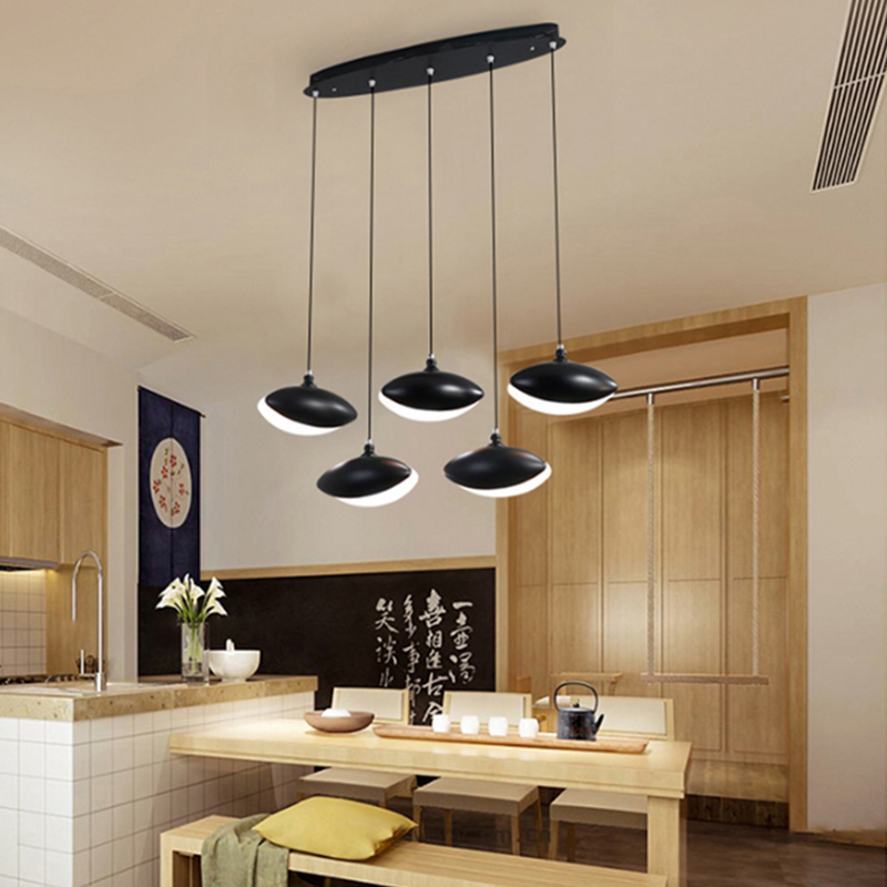 Modern led Pendant Light for Kitchen Dining Room Living Room Suspension luminaire Hanging White Black Bedroom Pendant Lamp avize iwhd led pendant light modern creative glass bedroom hanging lamp dining room suspension luminaire home lighting fixtures lustre