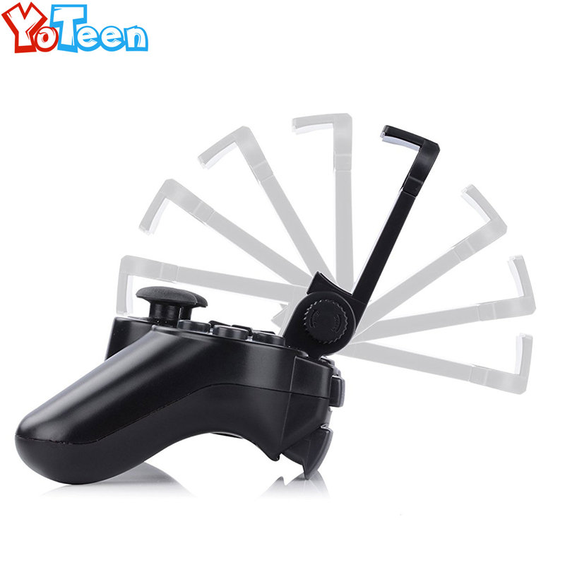 Accessories Adjustable Phone Holder for PlayStation PS3 Controller Cell Phone Clamp Game Clip Mount Holder Stand for PS3 Clip