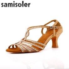 Женские туфли для бальных танцев samisoler черные сальсы женские