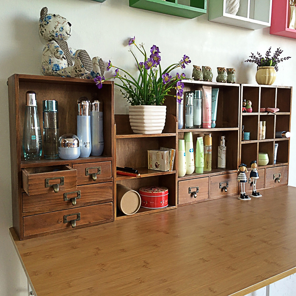 15 Articles To Help Organize Your Home For The New Year: New Arrival Fashion Beautiful Household Woodiness Desktop
