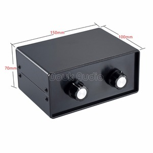 Image 4 - Nobsound Mini HiFi Stereo 4 IN 2 OUT RCA Audio Signal Splitter / Switcher Selector Passive Preamp