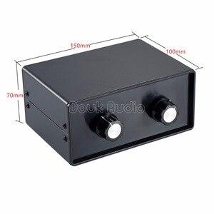 Image 4 - Nobsound mini hifi 스테레오 4 in 2 out rca 오디오 신호 분배기/스위처 선택기 패시브 프리 앰프