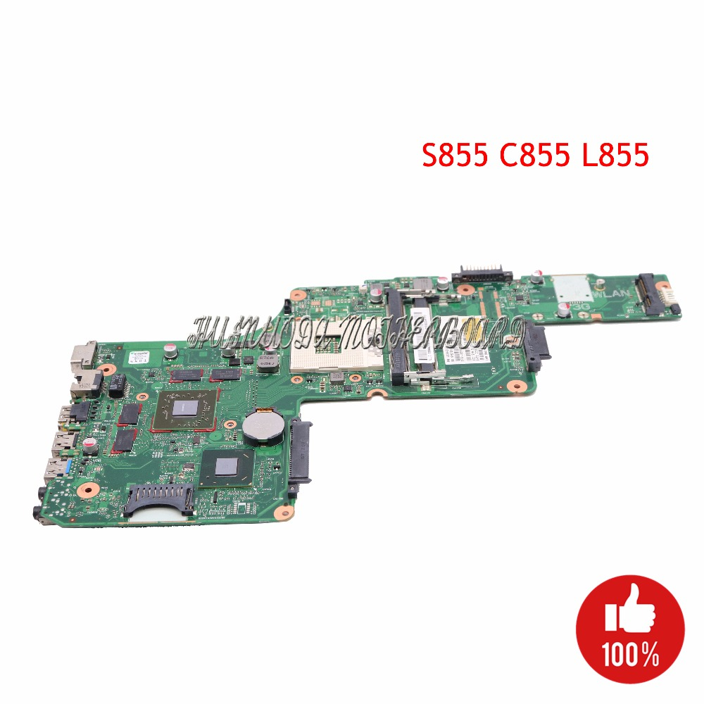 Main board For Toshiba Satellite S855 C855 L855 Laptop Motherboard HM76 DDR3 HD7670M V000275020 DK10FG 6050A2491301
