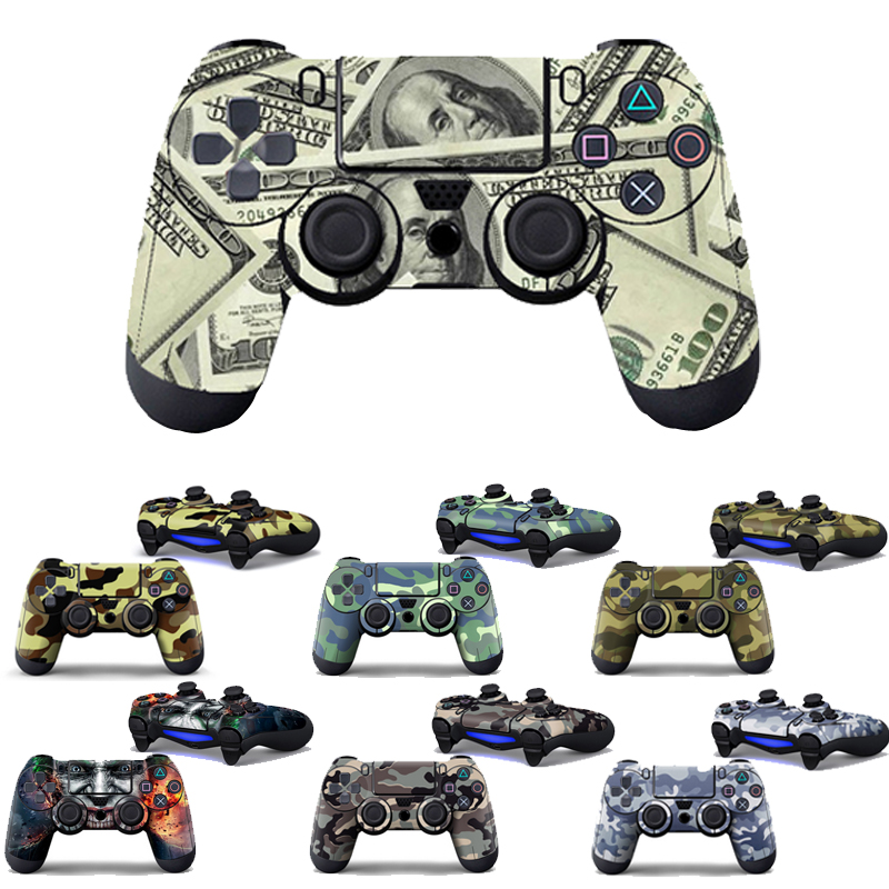 camouflage-vinyl-skin-sticker-cover-for-sony-ps4-controller-skin-for-font-b-playstation-b-font-4-gamepad-decal-joystick-joypad-controle