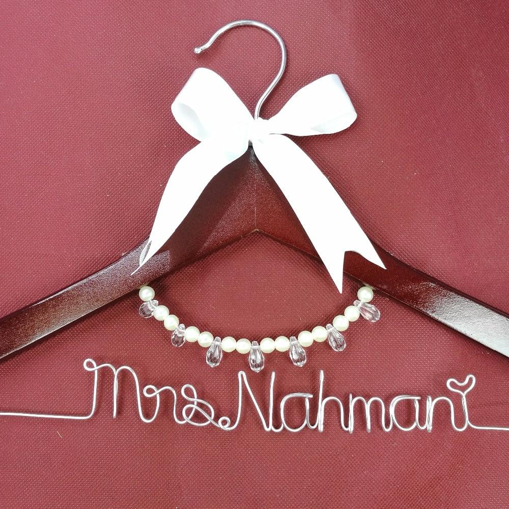 Přizpůsobené svatební závěs, družičky dárky, nevěsty závěs