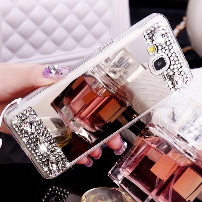 Cellphones & Telecommunications Rhinestone Cases For Samsung J3 J5 J7 2015 2016 2017 J510 J520 J310 J320 J710 J720 Bowknot Rope Rabbit Fur Ball Mirror Case Cover Shell Coque