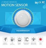 SmartYIBA Z wave Passive Infrared PIR Motion Sensor Detector+Temperature Sensor Home Automation Alarm System PIR Motion Alarm