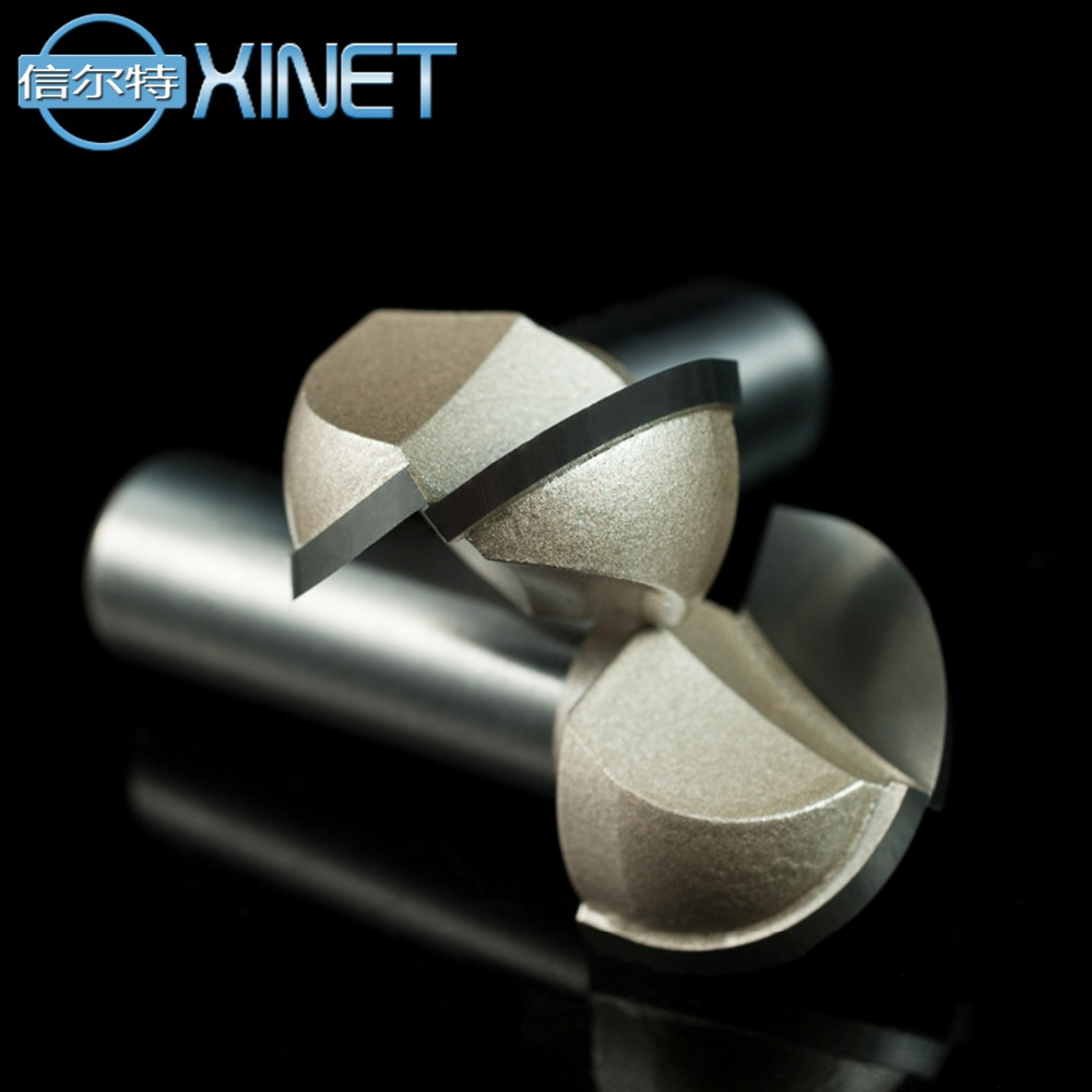 1/2*1-1/2, 2pcs,CNC machine Solid Carbide Milling Cutter,Round Bottom bit,woodworking router bit,MDF,PVC,acrylic,wood tool 1pc strong mayitr 1 2 shank 2 1 4 dia bottom cleaning router bit high grade carbide woodworking milling cutter mdf wood tool