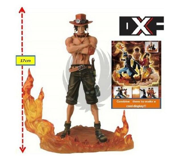 NEW hot 3pcs set 14 17cm One piece Monkey D Luffy ace Sabo collectors action figure