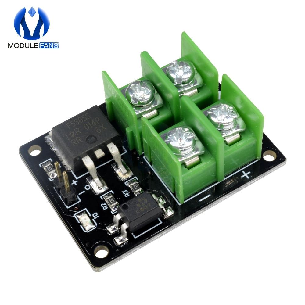 DC 3V 5V Low Control High Voltage 12V 24V 36V E-switch Mosfet Module F Arduino