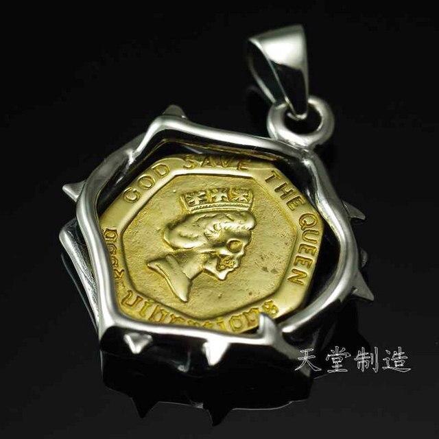 Thailand Einfuhr Good Vibrations Die Dorn Königin 20 Pence Münze