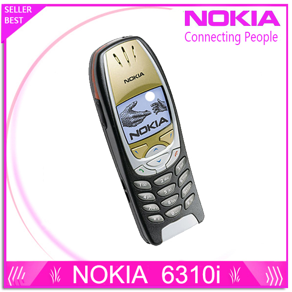 6310i Hotsale Классический Оригинал Nokia 6310i Мобильный телефон Один год гарантии бесплатная доставка