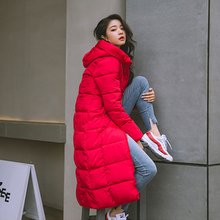 X-long Hooded Cotton Padded Coat RK