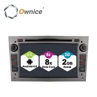 Ownice C500 Octa Core Android 6.0 Lettore DVD Dell'automobile Per Opel Astra H Vectra corsa Zafira B C G con 2 GB di RAM Sostegno 4G LTE Network