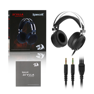 Image 5 - Redragon SCYLLA H901 Gaming Headset Gamer For PC PS4 Switch Phone Surround Pro Wired Computer Stereo Headsets With Microphone