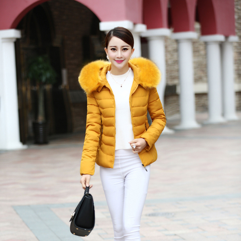 Winter Warm Long Sleeve Pocket Style For Women Outwear Paraks Female Lady Casual Clothes Classical Fashion