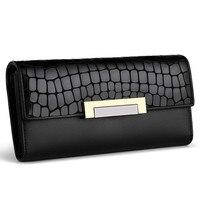 Women Leather Wallet Women Luxury Brand Womens Wallets And Purses Card Holder Pocket