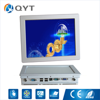 Modern Design Industrial Touch Computer Intel N2800 1 86GHz Fanless Usb And Serial Touch Screen Panel