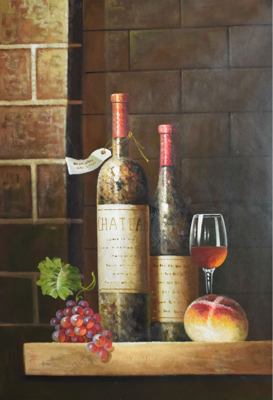High Quality Hand Painted European Style Still Life Oil
