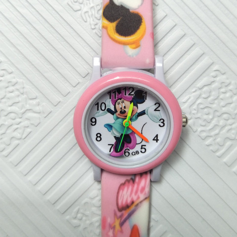 Cartoon mickey children watch digital electronic kids watches for boys girls gift Student clock Christmas gift child wristwatch Multan