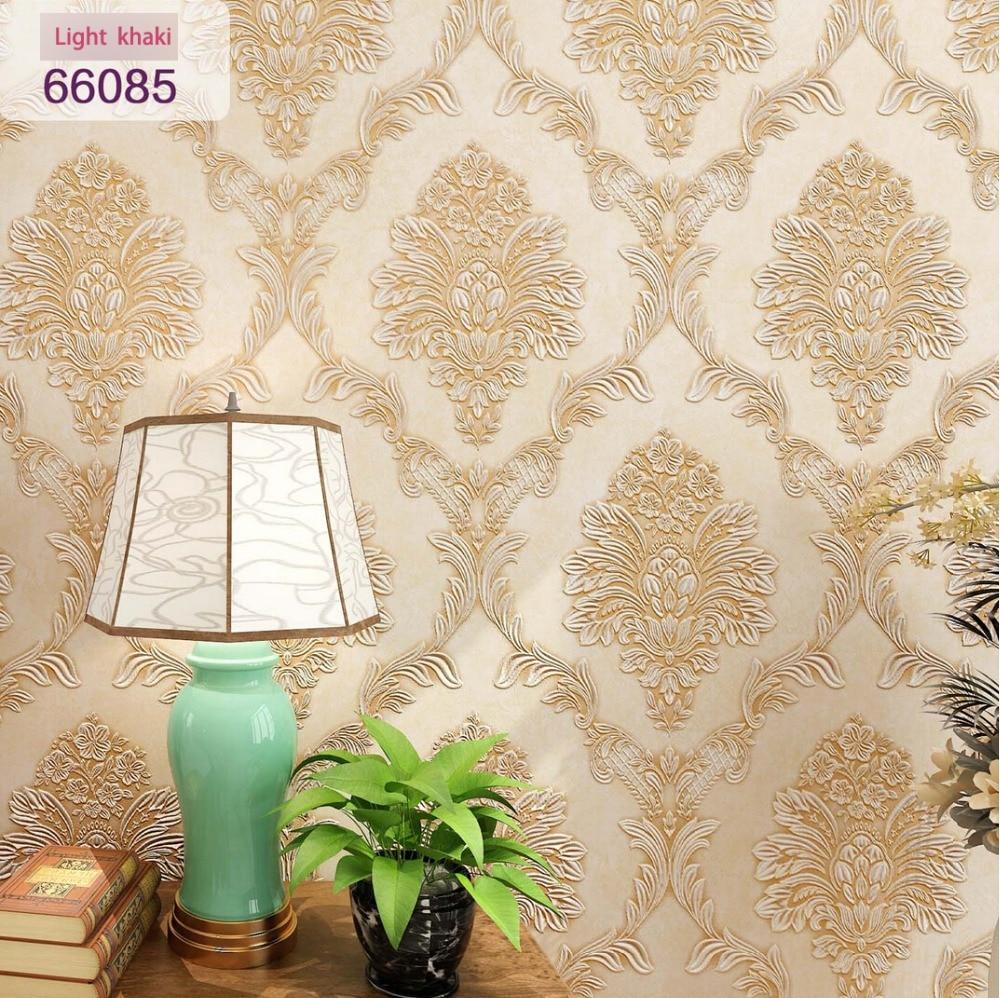 new arrive damask designs 2015 wallpaper for bedroom papel de parede floral  цены