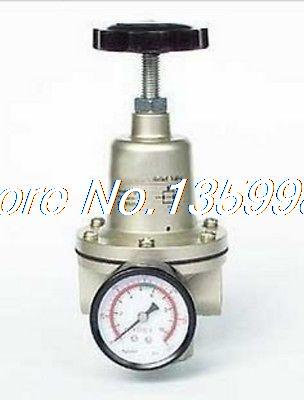 1pcs QTY-20 Pneumatic Air Pressure Regulator 3/4 BSPT with Gauge 5000 L/min free shipping g1 ports air filter regulator model aw5000 10 with pressure gauge 5pcs in lot high flow rate in stock