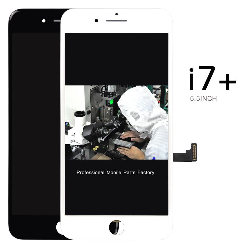 Prix pour Alibaba china5pcs pour iphone 7 plus lcd affichage complet avec écran tactile en verre digitizer assemblée remplacement