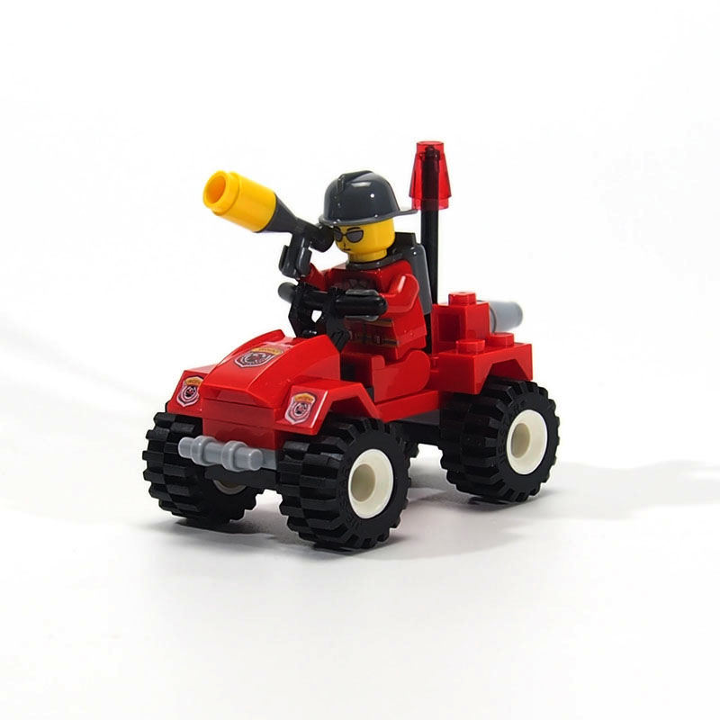 City Fire Control Police Mini Fire ambulance Model Brick Toy Compatible legoed Building Blocks Assembly Bricks