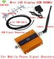 Display LCD GSM 900 MHz celular repetidor de señal GSM 900 amplificador de señal con la antena de interior + antena yagi + Cable amplificador de señal gsm