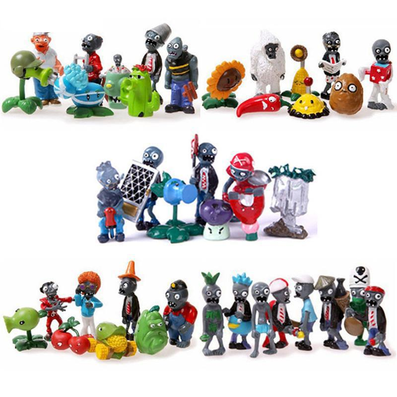 Classic Figure plants vs zombies game play 2 PVC Action Figure toys for children Christmas gift Free shipping фигурка planet of the apes action figure classic gorilla soldier 2 pack 18 см