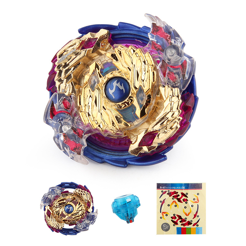 Burst Beyblade Spinning Top Metal Fusion Masters Without Louncher Toys Blade