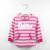 OshKosh Camisetas para Niñas de Color Rosa Sudaderas Con Capucha Niños Otoño Con Capucha para Niñas Rayas Marca Deporte Al Aire Libre prendas de Vestir Exteriores de Ropa de Bebé Con Capucha
