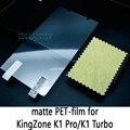 Lucent brillante Esmerilado Mate antideslumbrante Protector de Pantalla de Cristal Templado Película Protectora Para KingZone K1 Pro/KingZone K1 Turbo
