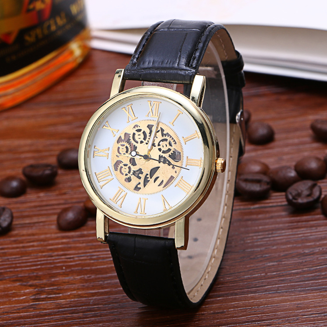 2017 Meboyixi Brand Casual font b Quartz b font Unique Stylish Hollow font b Watches b