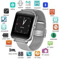 BANGWEI 2018 New Sport Smart Watch Men's Pedometer Activity Tracker Stainless Steel Waterproof Smart Watch Support SIM TF Card