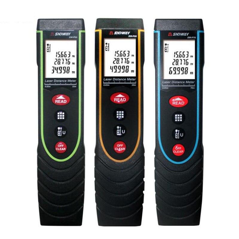 ФОТО Digital Laser Distance Meter Golf Rangefinder Range Finder Handheld Measuring Tool 35M 50M 70M