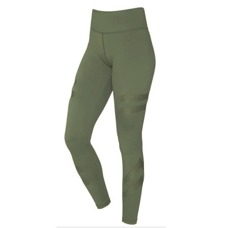 Moda su misura Sporting Leggings Donne Skinny Elastic Fitness Leggings Pant Sexy Push Up Allenamento Pantaloni Sportivi