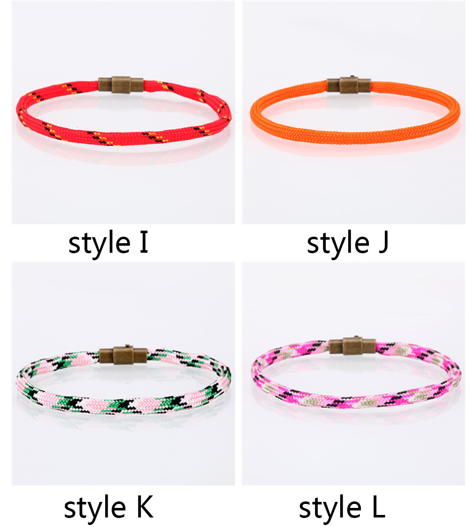 Le Jeune moderne.Accessoires-Bracelet mode pour homme tendance à fermoir métallique-Bracelets pour homme ou femme mode en corde tressée. Fermoiren acier inoxydable. Le jeune moderne peut se préparer à partir en vacances en mode tendance.