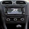 Автомобиль центральной приборной панели и кондиционирования Воздуха на выходе стикер для Volksvagen VW Golf 6 5 шт. за комплект