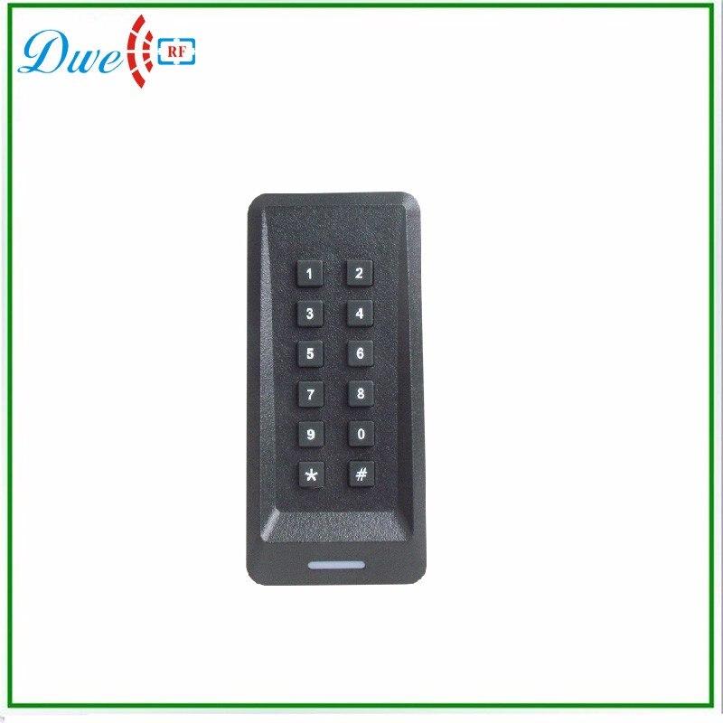 купить DWE CC RF DWE CC RF 125khz 12v WG26 keypad card access control system with 2017 latest design по цене 1450.12 рублей