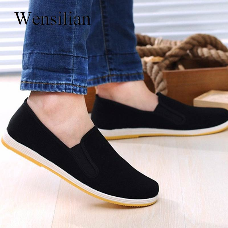 Loafers Men Canvas Shoes Man Sneakers Casual Shoes Slip on Flat Black Moccasin Trainers Sneakers Mocassin Homme Espadrilles zuoxiangru new casual shoes woman slip on flat shoes women sneakers classic canvas loafers espadrilles casual shoes size 36 40