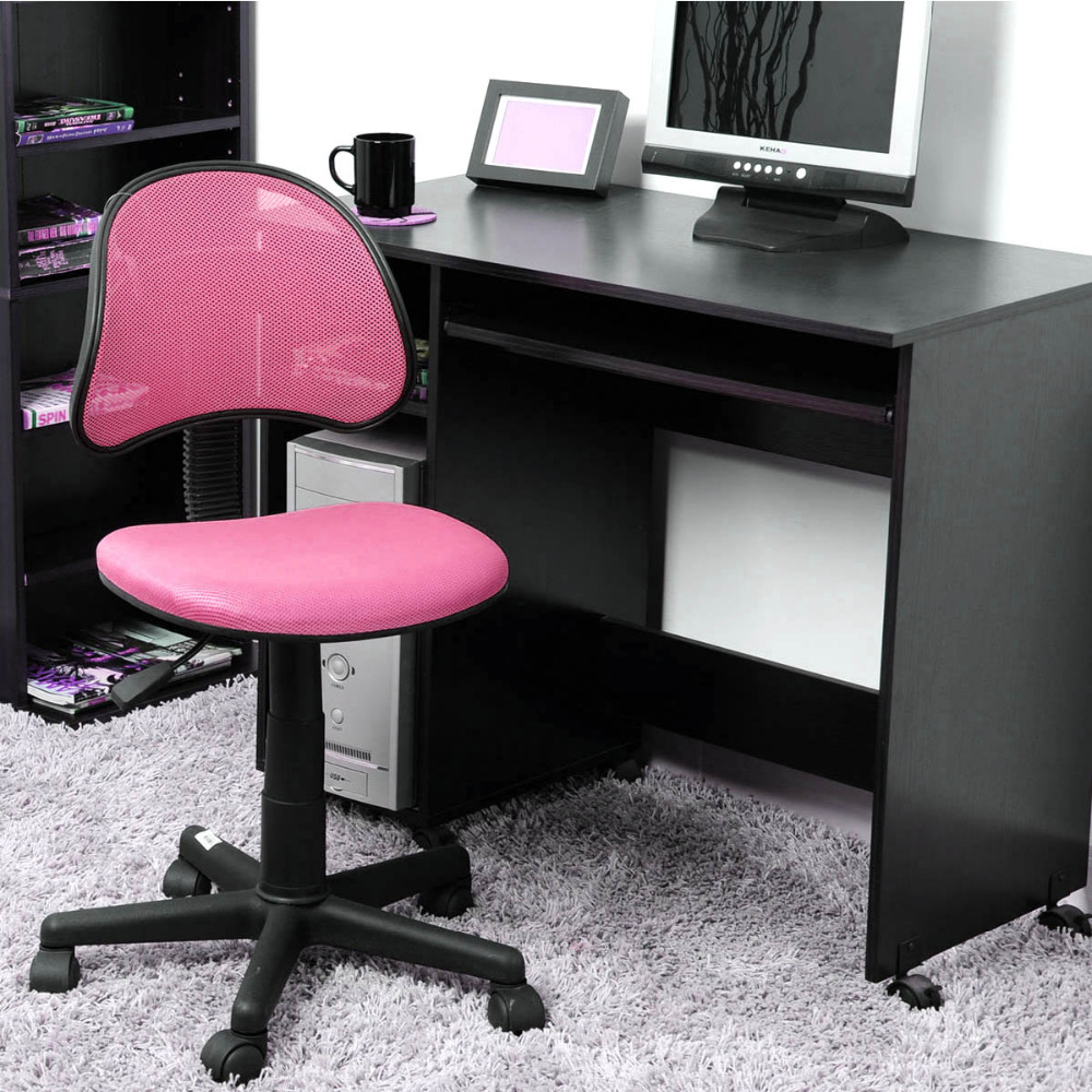 aingoo breathable office computer chair without arms fabric pads swivel height adjustable 360 degree rotating wheel office chair in office chairs from