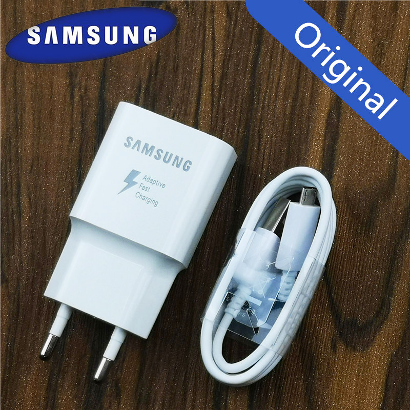 Samsung Charger Adaptive Fast Charge For Galaxy a8 a6 a5 Note 4 5 QC 3.0