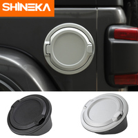 SHINEKA Tank Covers Gas Tank Cap Fuel Filler Door Cover for Jeep Wrangler JL 2018 Unlimited 2/4 Door