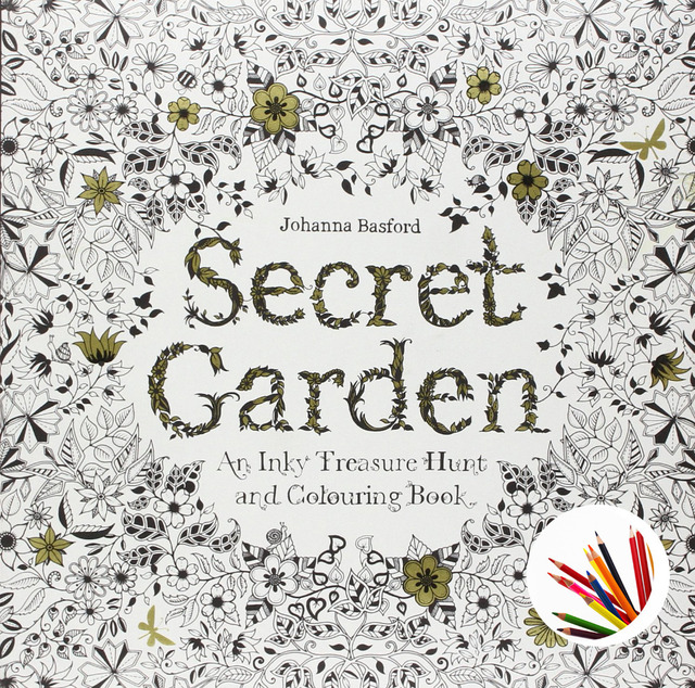 Secret Garden By Johanna Basford An Inky Treasure Hunt And Coloring