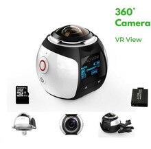 4K 360 Diploma Motion Video Digital camera Wifi Mini 2448*2448 16MP Extremely HD Panorama Digital camera 3D Waterproof Sport Driving VR Digital camera