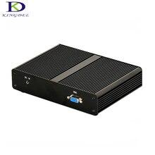 Kingdel micro desktop pc intel j1900 quad core мини-компьютер RAM + MSATA SSD 4 LAN Firewall многофункциональный Маршрутизатор TV Box Windows 7